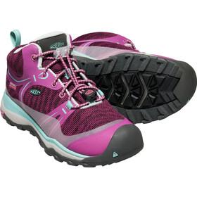 Keen Junior Terradora WP Mid Shoes boysberry/red v